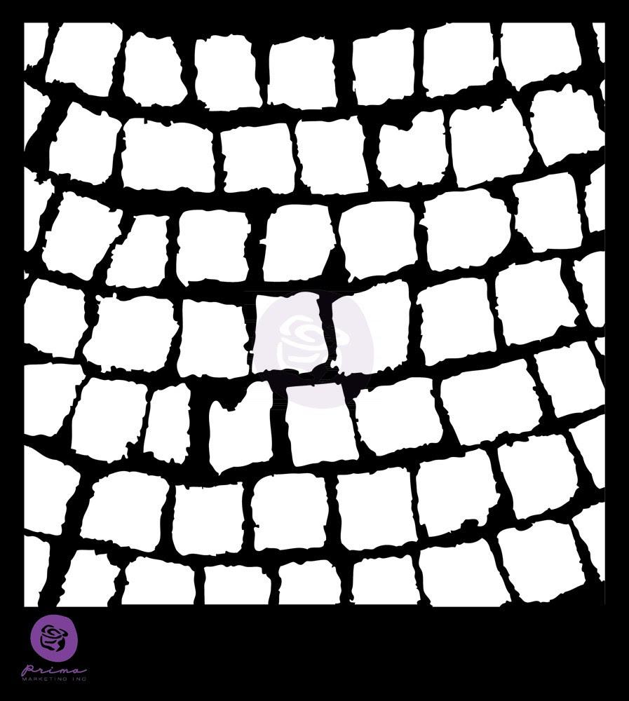 Prima 6x6 Stencil - Pathway