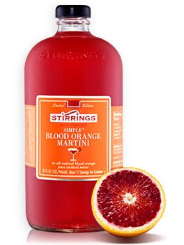 Stirrings Cocktail Mixer - Blood Orange Martini