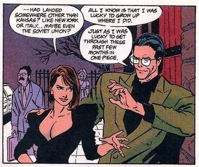 Yeah, Lois, I read 'Red Son' too.