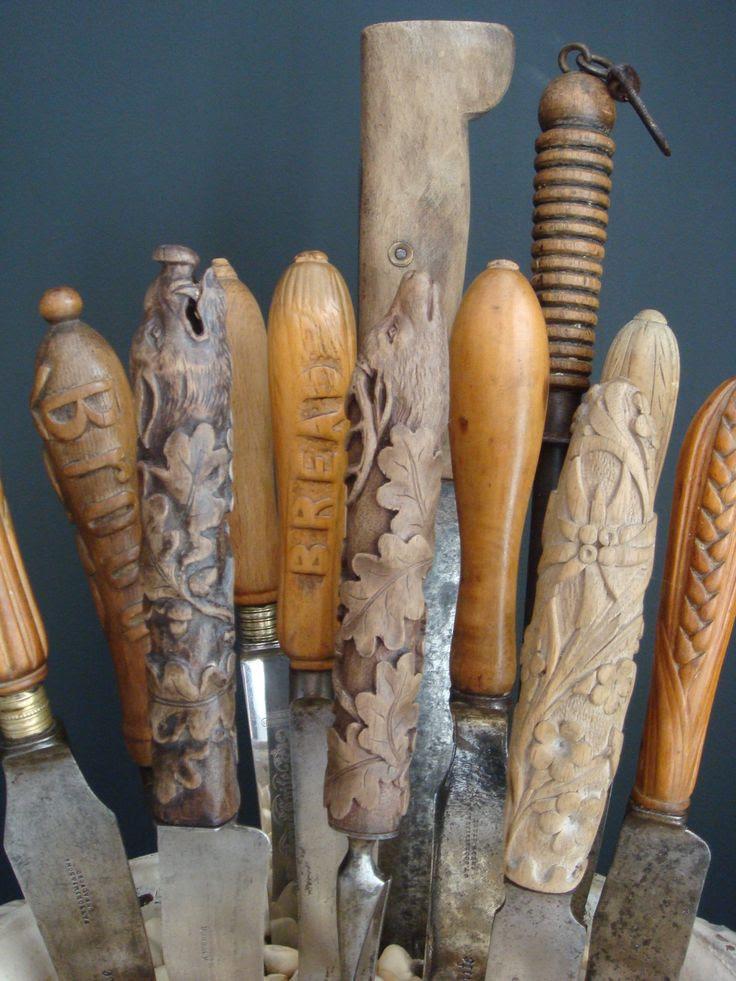 Antique Bread Knives
