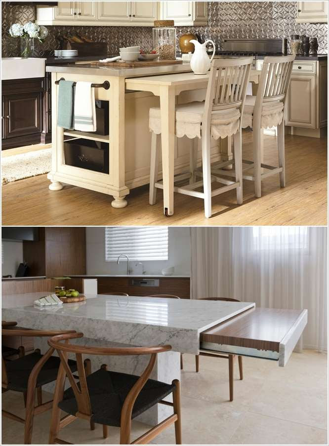 Kitchen Island With Pull Out Table English Lessons