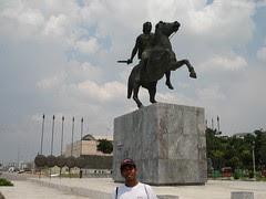 Statue Alexander the Great, Thessaloniki, Greece