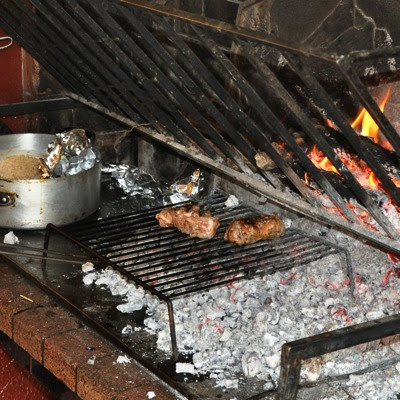 Charcoal-grilled Andouillette