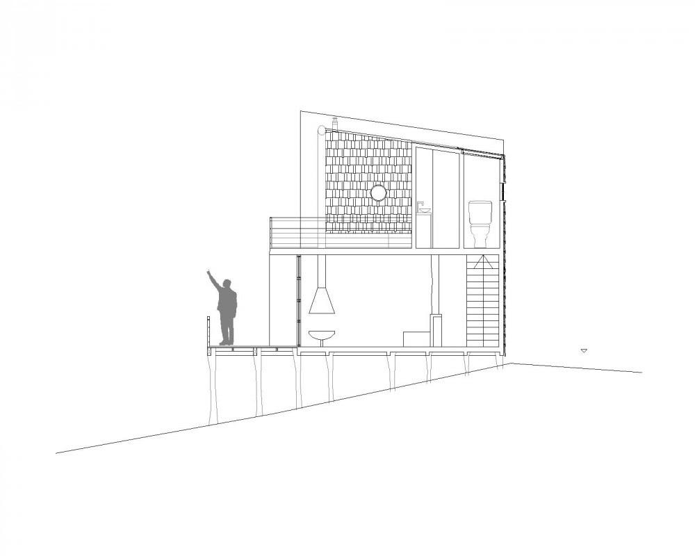 Casa Koñimo, Eugenio Ortúzar Müller, Tania Gebauer Araneda, Arquitectura, diseño, casas