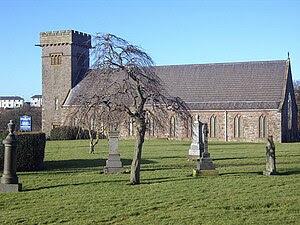 The parish church of Harrington, Cumbria.