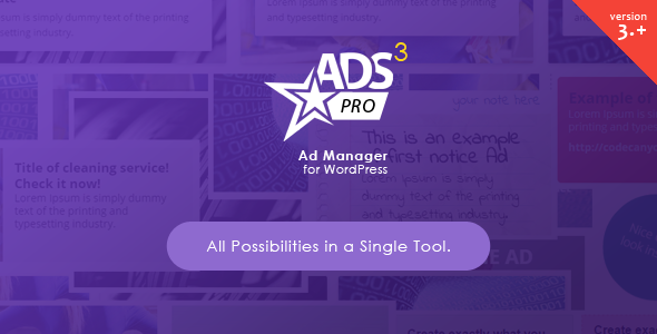 Ads Pro WordPres Plugin
