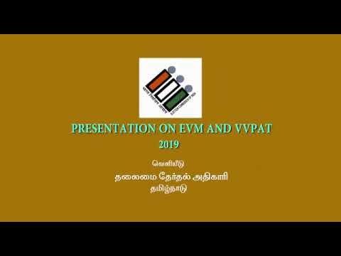 Presentation on EVM and VVPAT