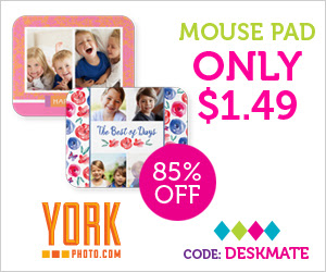 Custom Photo Mousepad – Just $1.49 – Save $8.50!