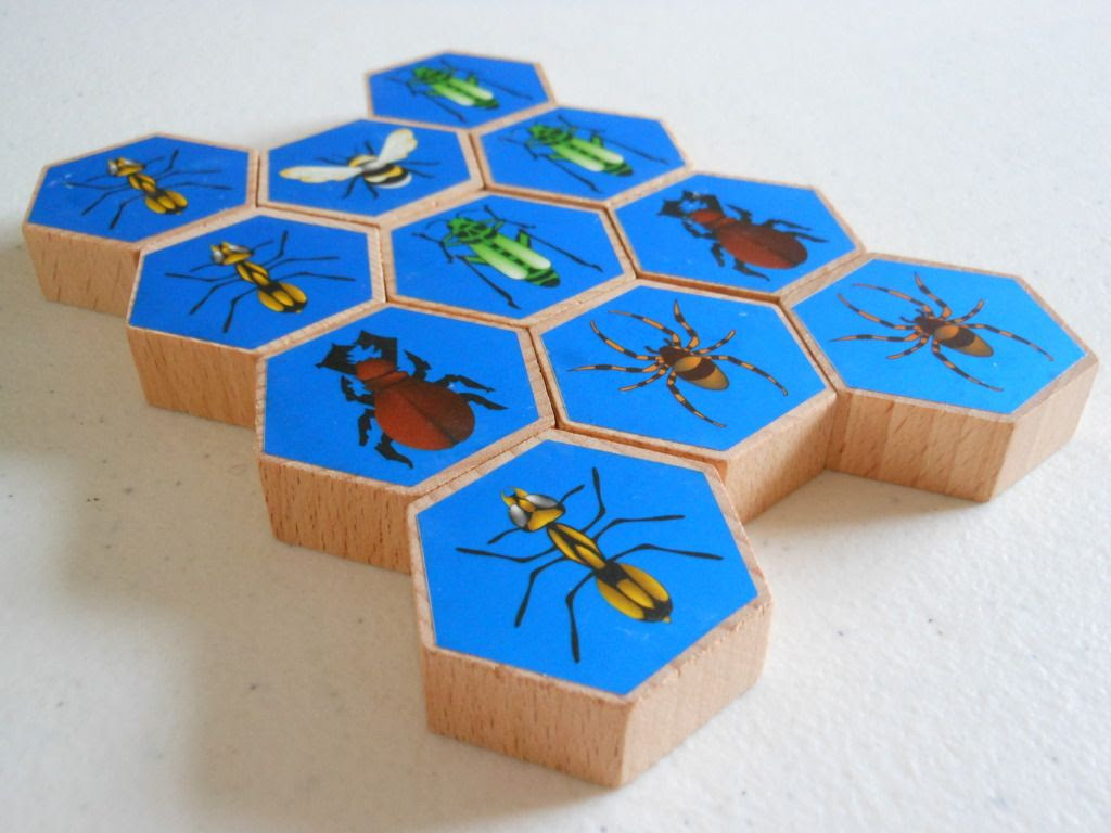 Hive - playing pieces