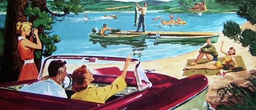 Drive to the lake