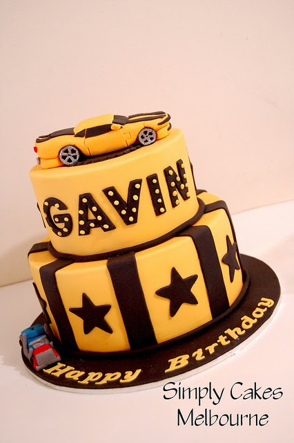 Bumblebee Transformer Cake | Recent Photos The Commons Getty Collection Galleries World Map App ...