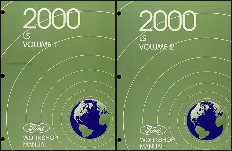 2005 Lincoln Aviator Service Shop Repair Set 2 Volume ...