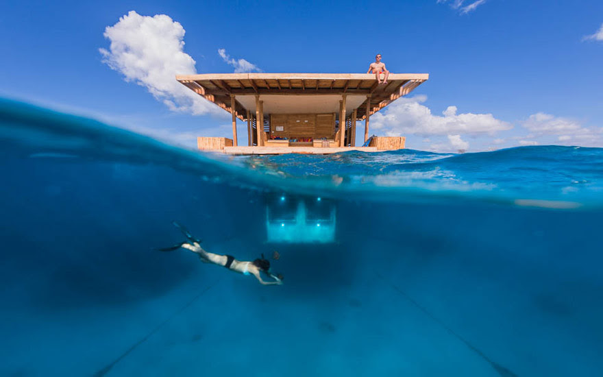 Floating Hotel In Zanzibar
