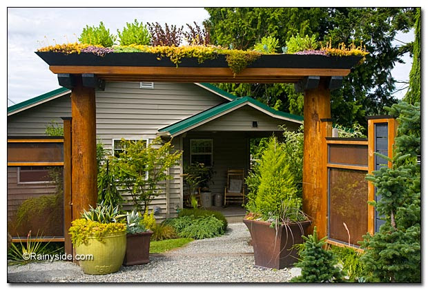 Exciting Garden Entryways
