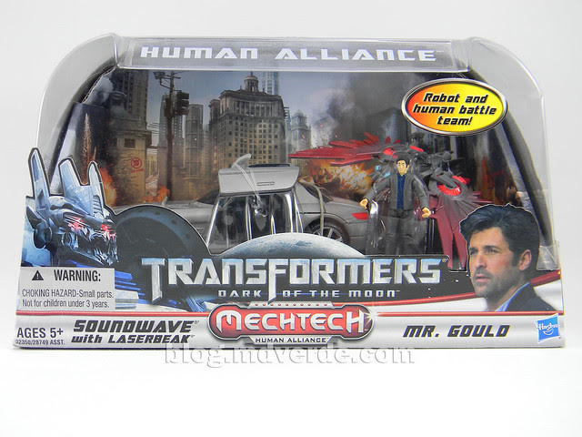Transformers Soundwave Human Alliance - DotM - caja