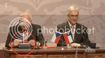 czech president stealing pen