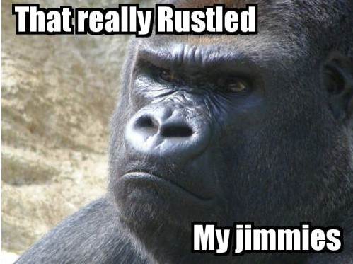 The Jimmies, They are a-Rustling