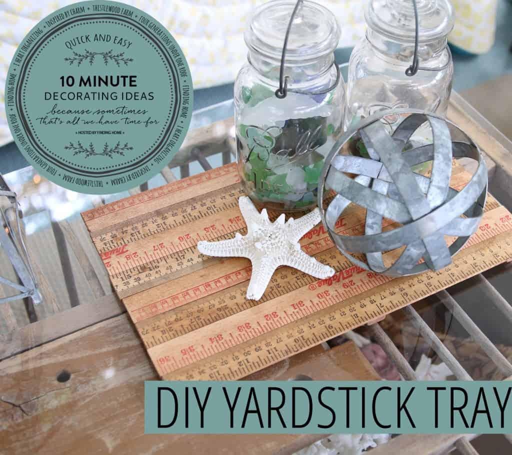 Yardstick Tray