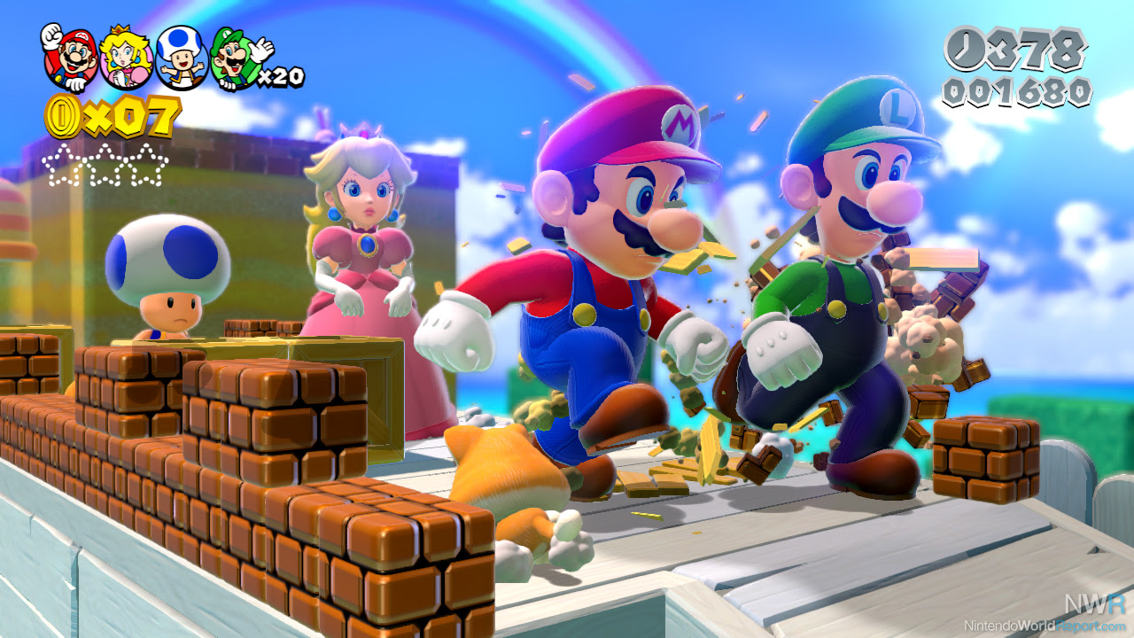 Super Mario 3d World Review Review Nintendo World Report