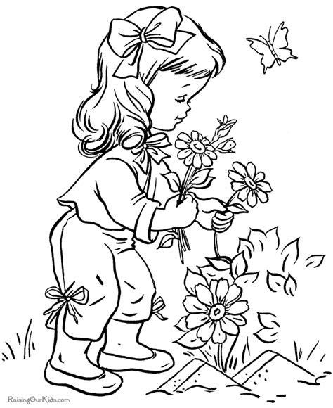 flower printables sheets  kids