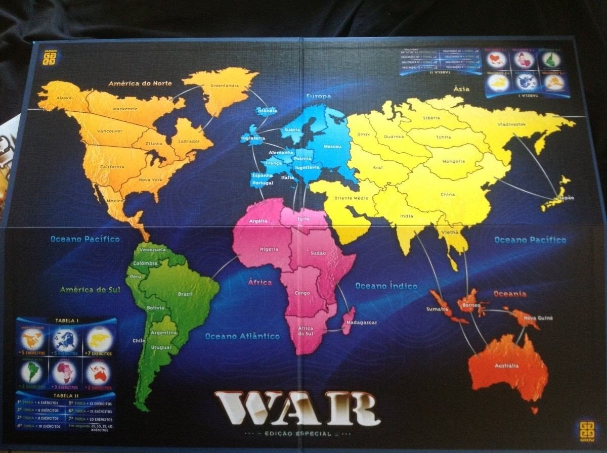 Tabuleiro de War