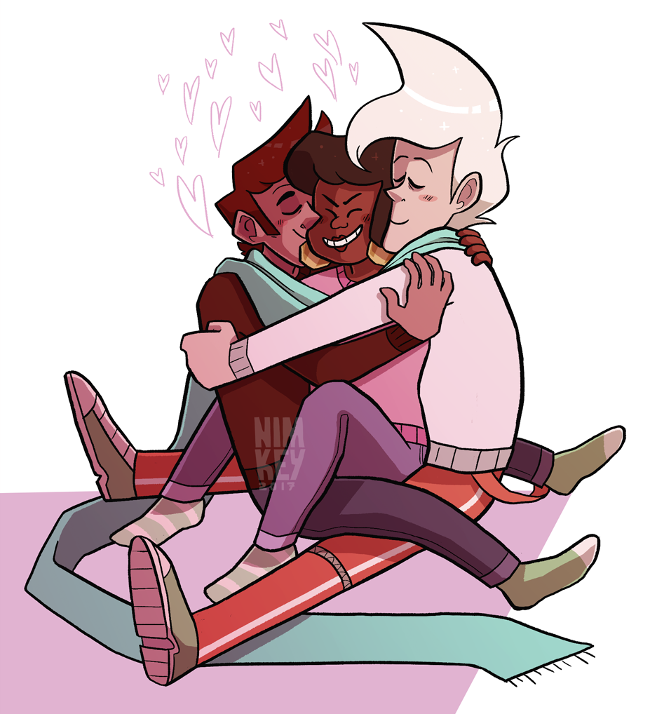 happy new year from the cool kids and their matching neapolitan sweaters