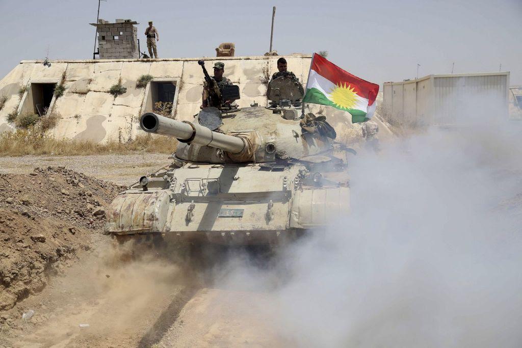 Ώρα των Κούρδων: Καταδίωξη ISIL, στόχος 'Μοσούλη', όλοι χαρούμενοι…