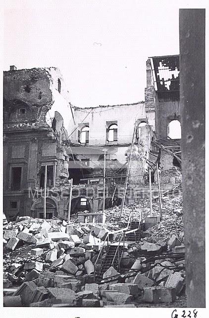 Alcázar destruido en 1936 © Museo del Ejército, Ministerio de Defensa