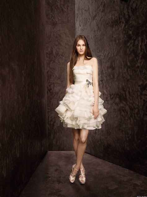 Short Wedding Dresses For Spring Brides (PHOTOS)   HuffPost