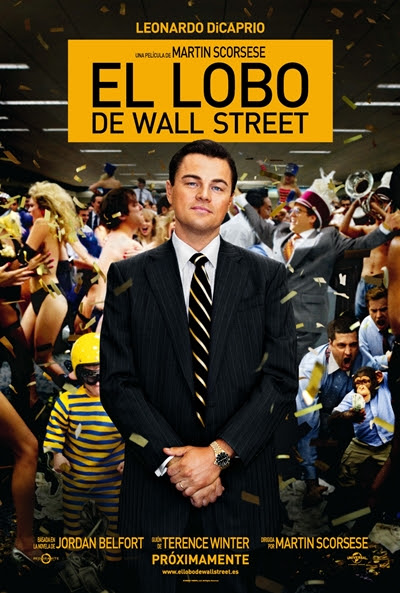 Cartel de El lobo de Wall Street (The Wolf of Wall Street)