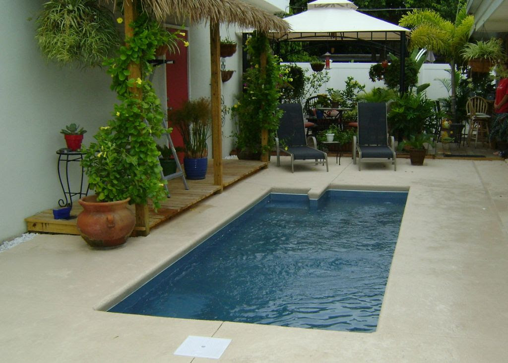 Courtyard Rising Sun Pools and Spas