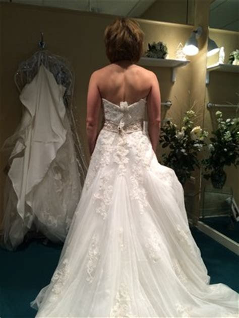 Cups sewn into dress or plunging back bra?   Weddings