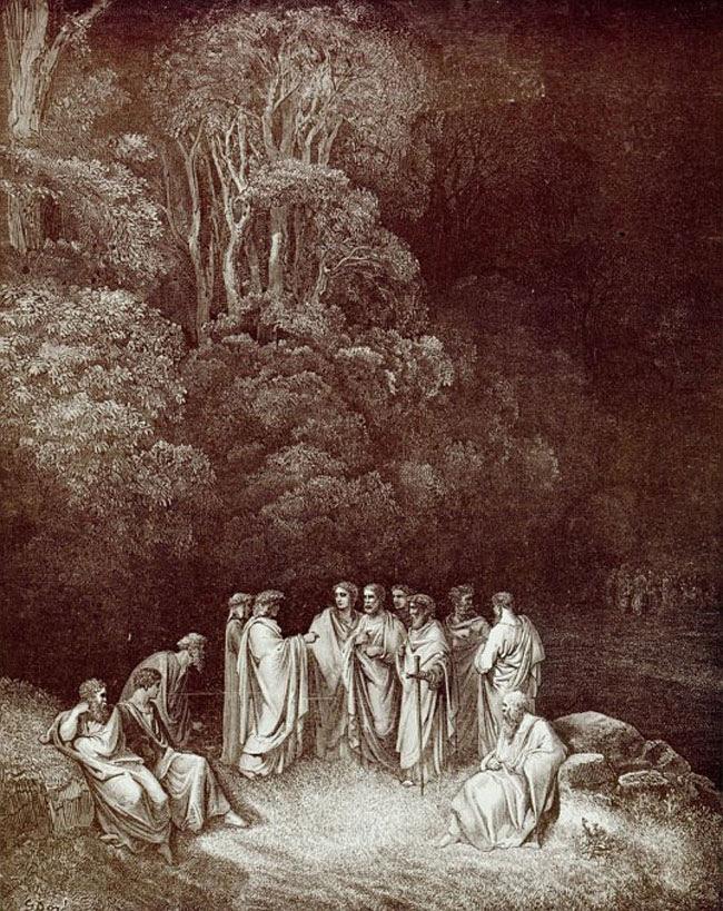 Doré, Poets in Limbo