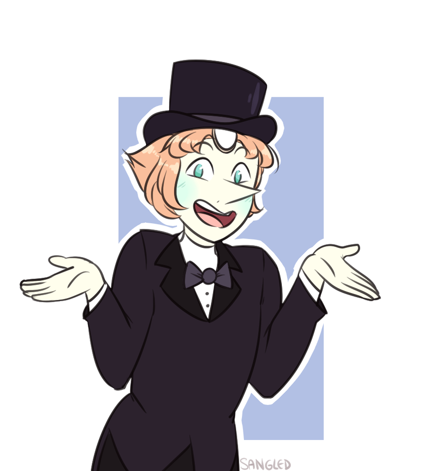 submit to the fanciness, pearl did i mention that she looks rly good in a suit, like damn --- mr greg preview: [www.youtube.com/watch?v=U5nFVz…