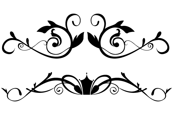 Download Vector Floral Ornamental Border Freevectors Png Image