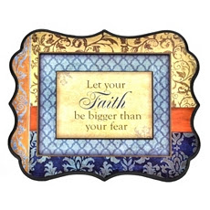 Let Your Faith Wall Decor Art Print