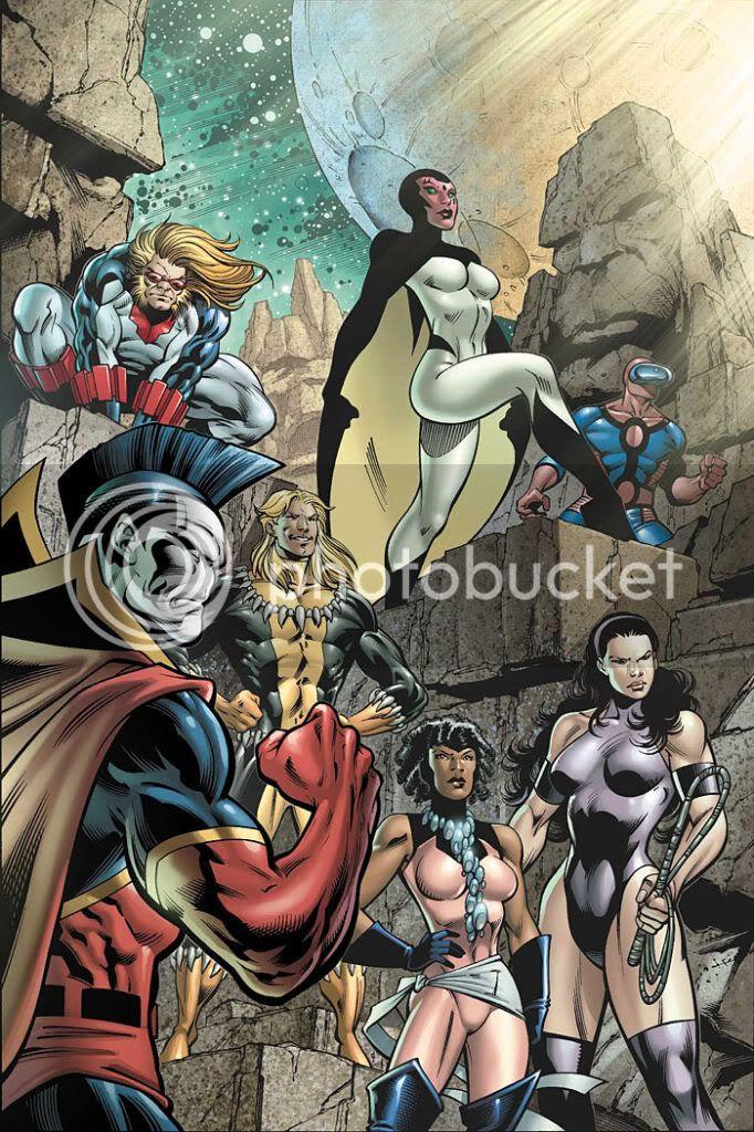 Exilados: Superguardiões