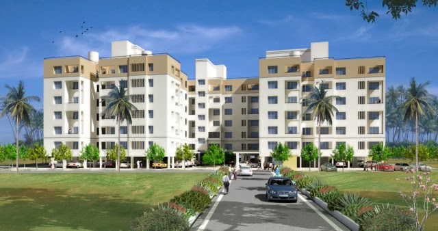 Everglade 2 & 3 BHK Apartments Kharadi Pune