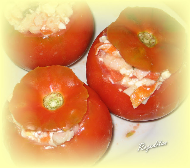 TOMATES RELLENOS DE MARISCO LIGHT