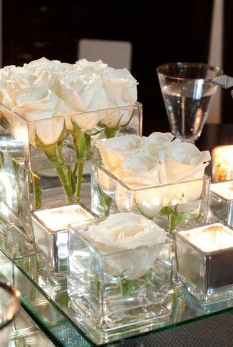 17 Best ideas about Glass Centerpieces on Pinterest   Wine