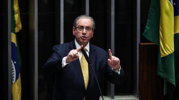 Eduardo Cunha, expresidente de la Cámara Baja. Foto: EFE
