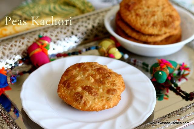 Peas Kachori -1