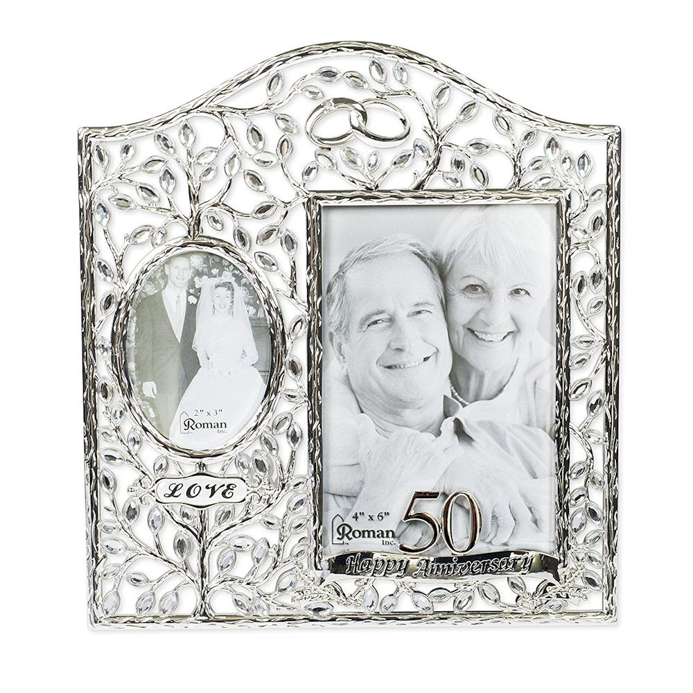Roman Then And Now 50th Anniversary Photo Frame Fitzulas Gift Shop