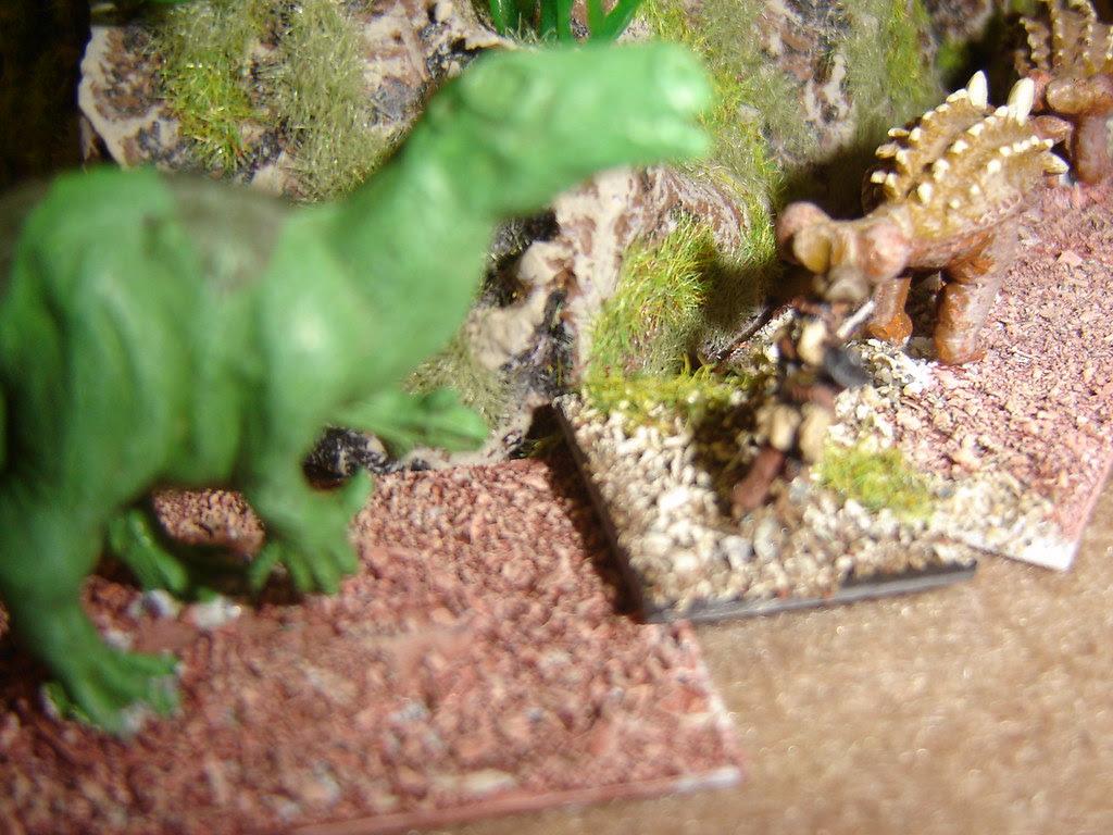 Torres scrambles across ridge to discover herd of dinosaurs