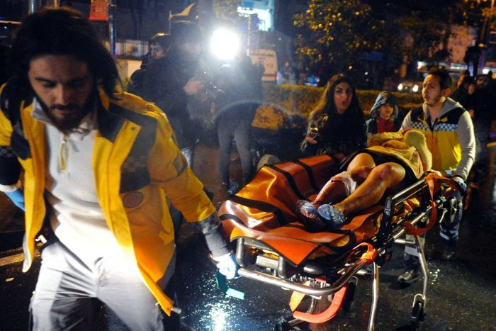 Image result for 39 dead in turkish nightclub shooting