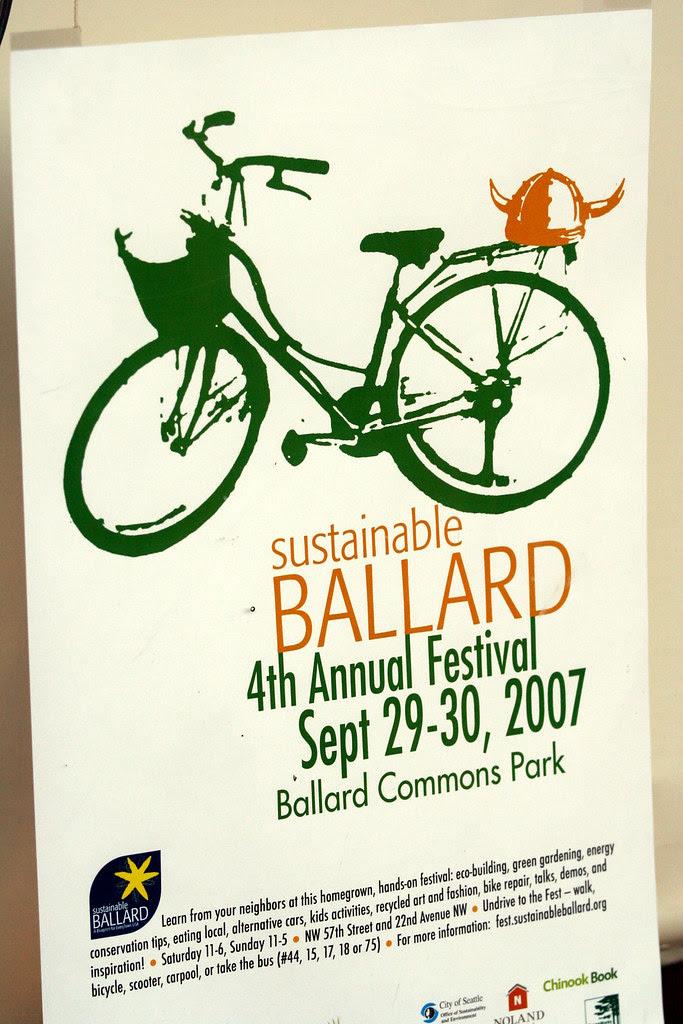 Sustainable Ballard Sept. 29-30
