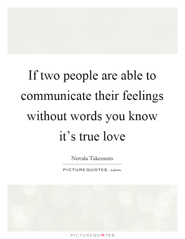 Quotes About Knowing True Love 20 Quotes
