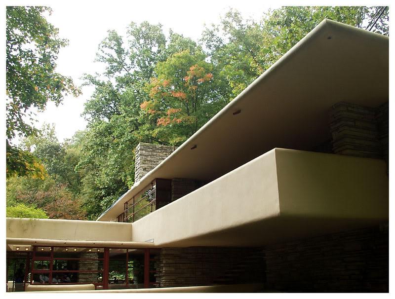 Casa en la Cascada - Frank Lloyd Wright