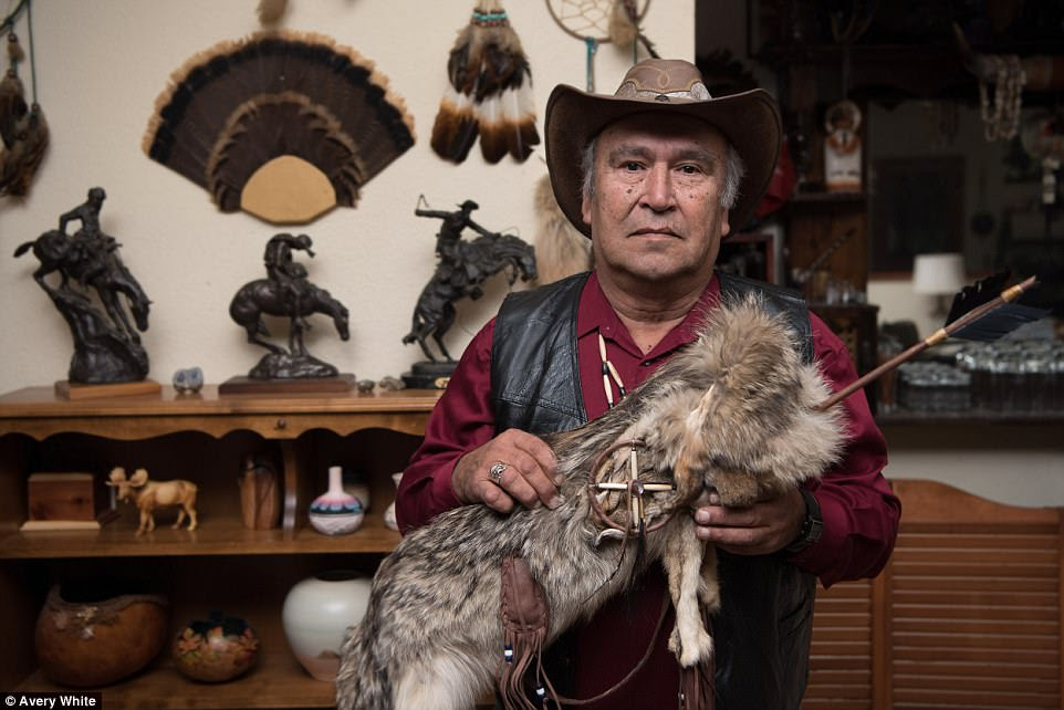The Ninsenan tribe (with tribal council chairman Richard Johnson pictured above) has 87 percent of their members at or below the poverty line