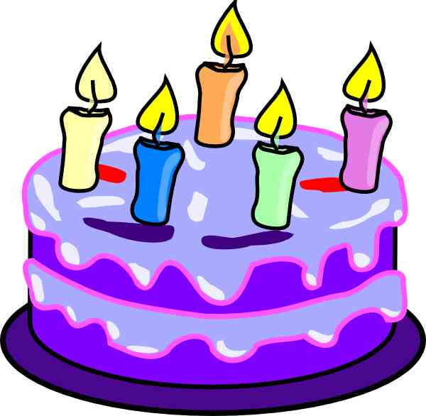 Birthday Clip Art Pictures Cake
